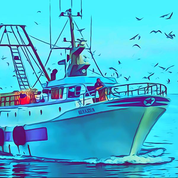 peschereccio antartide